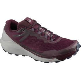 Salomon Sense Ride 3 Buty Kobiety, wine tasting/alloy/burnt coral